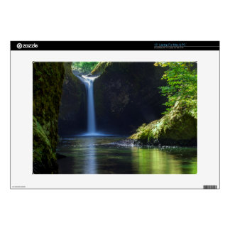 Punchbowl Falls Along Eagle Creek Trail 2 Laptop Skins