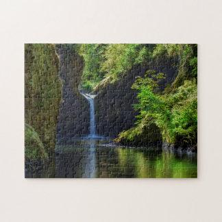 Punchbowl Falls Along Eagle Creek Trail Jigsaw Puzzles