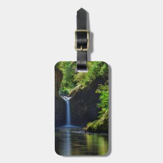 Punchbowl Falls Along Eagle Creek Trail Luggage Tag