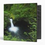 Punchbowl Falls on Eagle Creek, Columbia River Vinyl Binder