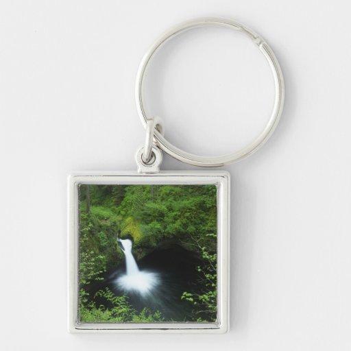 Punchbowl Falls on Eagle Creek, Columbia River Keychains