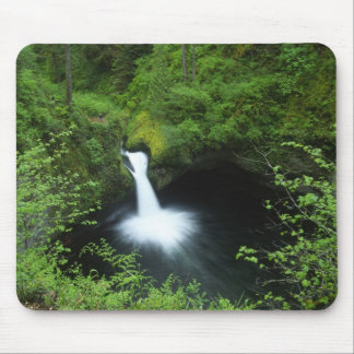 Punchbowl Falls on Eagle Creek, Columbia River Mouse Pad