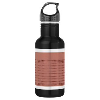 punched card 18oz water bottle
