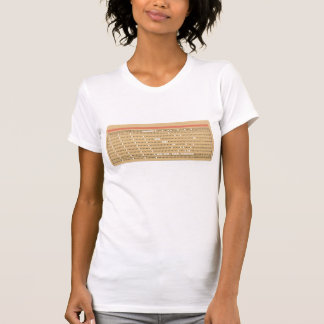 Punched Card Shirt