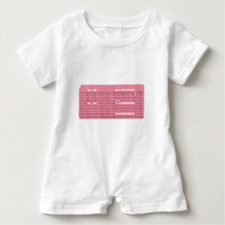 Punched card transparent background baby romper