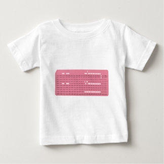 Punched card transparent background baby T-Shirt