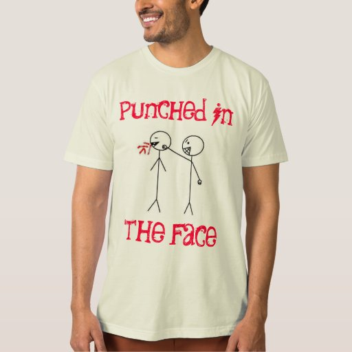 Punched in the Face Band Tee Shirt