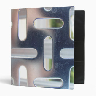 Punched Industrial Aluminum Plate Binder