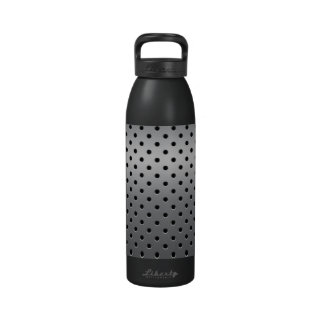 Punched Metal Liberty Bottle Reusable Water Bottle