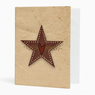 Punched Tin Star Avery Mini Binder