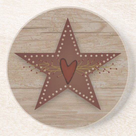 Punched Tin Star Coaster