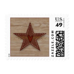 Punched Tin Star Postage