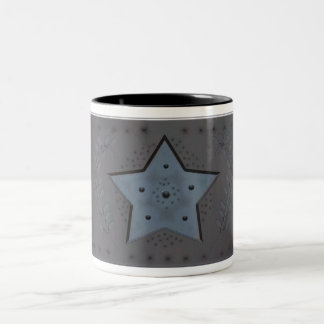 punched tinware Two-Tone coffee mug