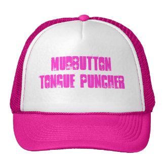puncher de la lengua del mudbutton gorro de camionero