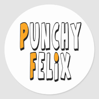 Punchy Felix Stickers (20 Pack)
