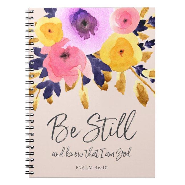 Punchy Petals   Watercolor Floral Journal