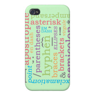 Punctuation II iPhone 4/4S Covers