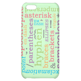 Punctuation II Case For iPhone 5C