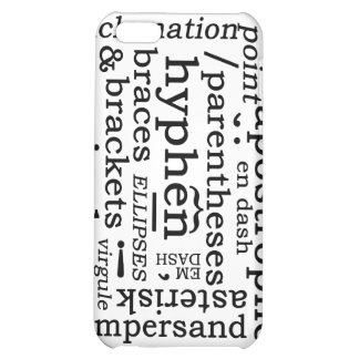 Punctuation Case For iPhone 5C