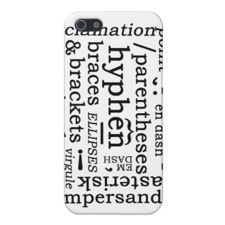 Punctuation Cover For iPhone 5