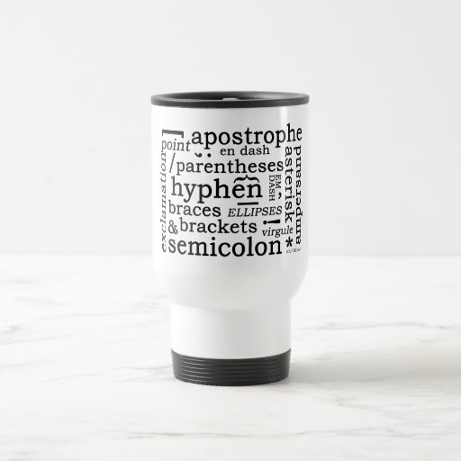 Punctuation Coffee Mug