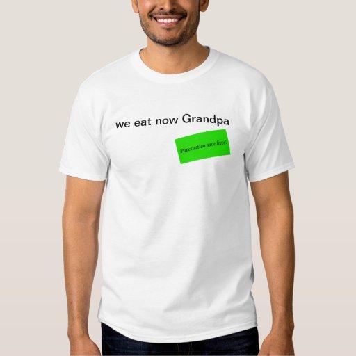 Punctuation save lives shirt
