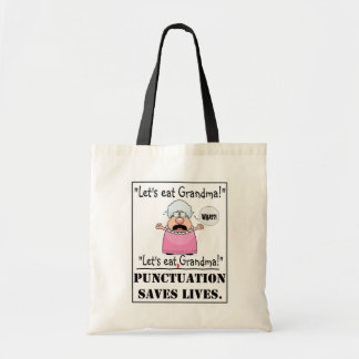 Punctuation Saves Lives- Bag