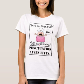 Punctuation Saves Lives - Women's Tee