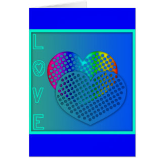 Punctured Heart St Valentine's Day Greeting Card