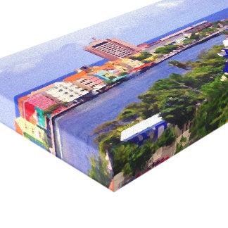 Punda View Canvas Print