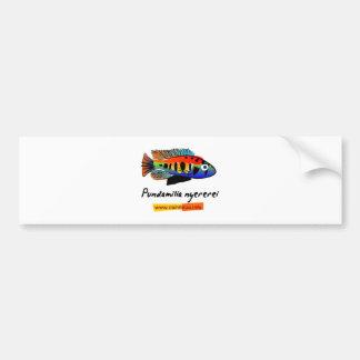 Pundamilia nyererei car bumper sticker