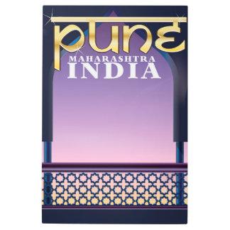 Pune, Maharashtra India vacation poster
