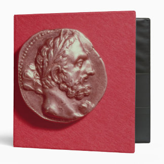 Punic coin bearing the head of Hamilcar Barca Binder