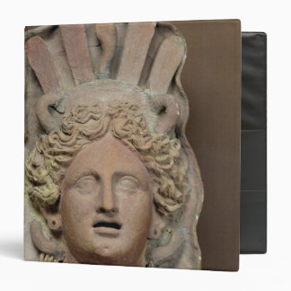 Punic mask representing Demeter 3 Ring Binder