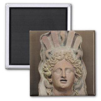 Punic mask representing Demeter Magnet