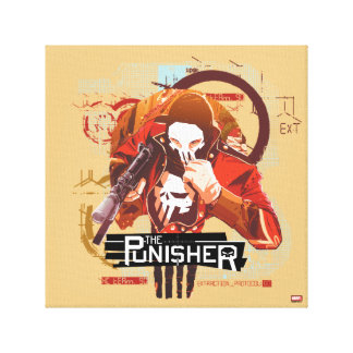 Punisher Extraction Protocol Canvas Print