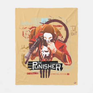 Punisher Extraction Protocol Fleece Blanket