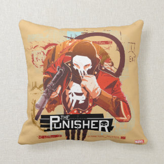 Punisher Extraction Protocol Throw Pillow