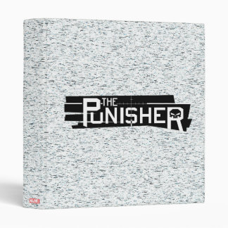 Punisher Logo 3 Ring Binder