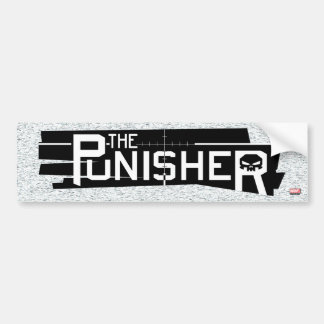 Punisher Logo Bumper Sticker