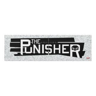 Punisher Logo Panel Wall Art