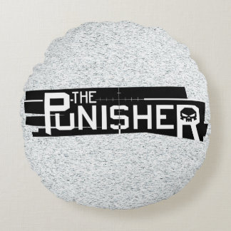 Punisher Logo Round Pillow