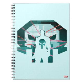 Punisher Logo Silhouette Notebook