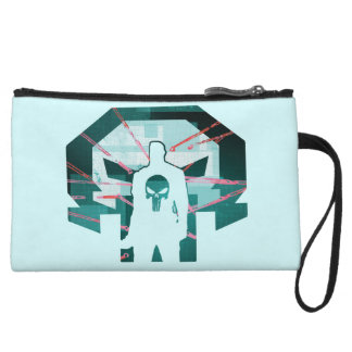 Punisher Logo Silhouette Wristlet