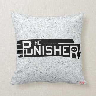 Punisher Logo Throw Pillow