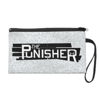 Punisher Logo Wristlet Purse