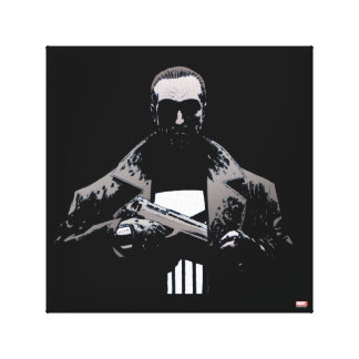 Punisher Out Of The Shadows Canvas Print