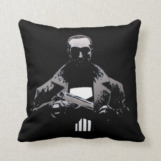 Punisher Out Of The Shadows Throw Pillow