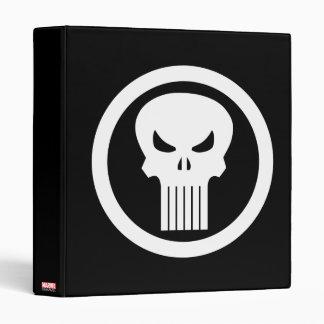 Punisher Skull Icon Binder