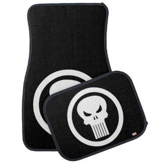 Punisher Skull Icon Car Mat